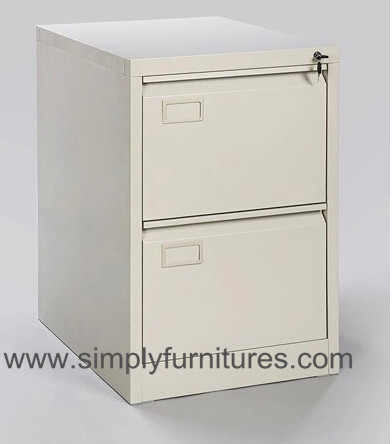 vertical metal storage cabinet 2 drawers