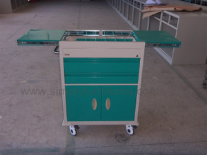 large storage capacity medical cart