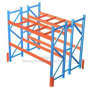 500kg (1100lbs) Capacity Pallet Racking Powder Coating Finish