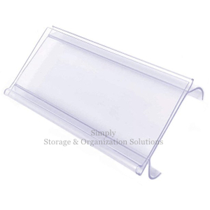 Plastic Shelf Tag Lable Holder