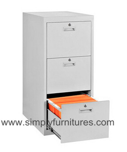 steel office cabinet vertical 3 drawers