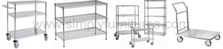 professional heavy duty Wire shelving products