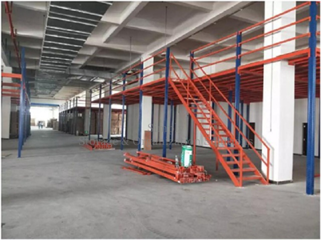 Industrial Warehouse Mezzanine for Bulkage Goods Storage