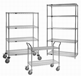 China professional heavy duty wire shelving manufacturer