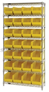 adjustable 8 tier chrome plated steel wire rack