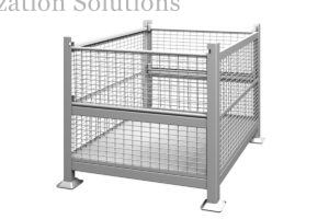 Foladable Rigid Wire Mesh Containers