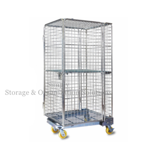 Zinc Plated Mobility Chrome Wire Security Cart Tools Storage