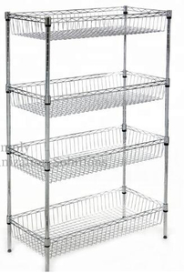 Four Baskets Mobility Shelving