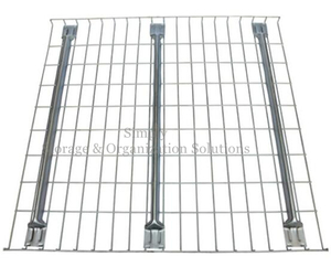 Zinc Plated 50x100 Pallet Rack Wire Decking for Heavy Duty Storage