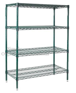 4 Tier Storage Solution Organizer Rack Wire Shelving For Mushrooms Growth